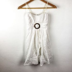 Ruby Rox | White Summer Spring Girls Casual Dress